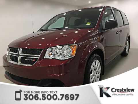 New 2018 Dodge Grand Caravan SXT 'Stow N Go' | Navigation | DVD