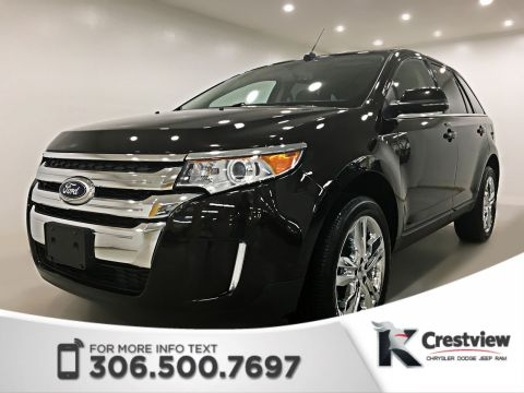 Certified Pre-Owned 2013 Ford Edge Limited AWD V6 | Leather | Remote Start
