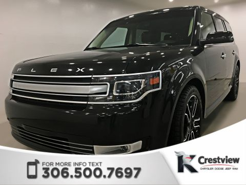 Pre-Owned 2014 Ford Flex Limited AWD V6 | Leather | Sunroof | Remote Start