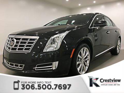 Certified Pre-Owned 2013 Cadillac XTS Luxury Collection AWD | Leather Heated and Cooled Seats | Sunroof | Navigation