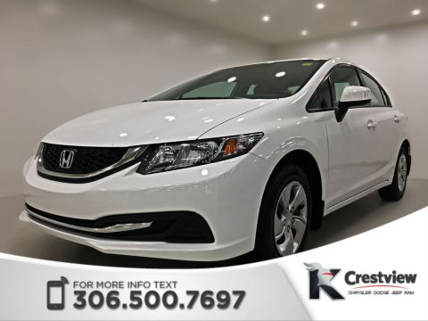 Certified Pre-Owned 2013 Honda Civic Sdn LX | Heated Seats