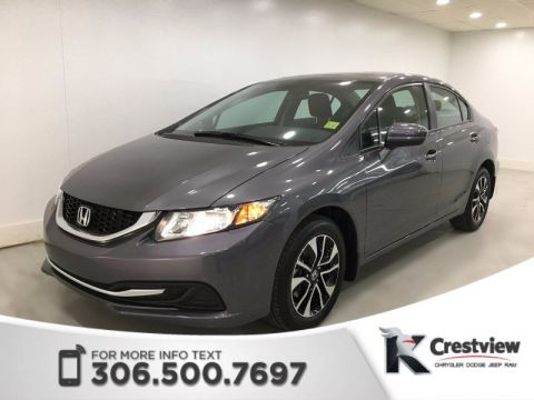 Used Honda Civic Sedan EX | Sunroof