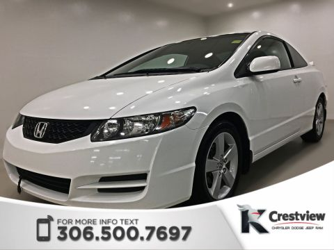 Certified Pre-Owned 2010 Honda Civic Cpe LX | Sunroof