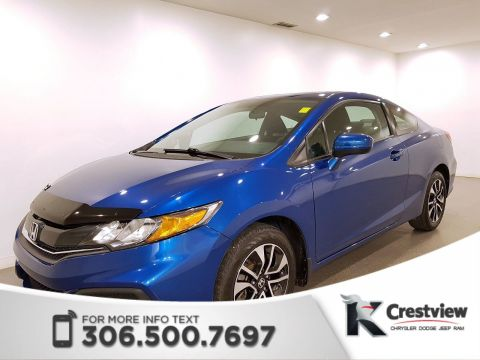Certified Pre-Owned 2015 Honda Civic Coupe EX | Heated Seats | Sunroof