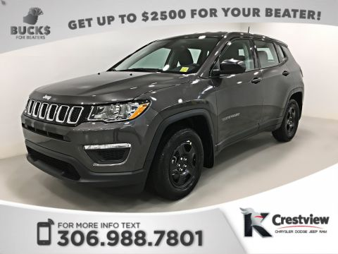 New Jeep Compass Sport FWD