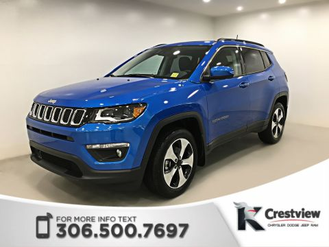 New 2018 Jeep Compass North 4x4 | Sunroof | Navigation