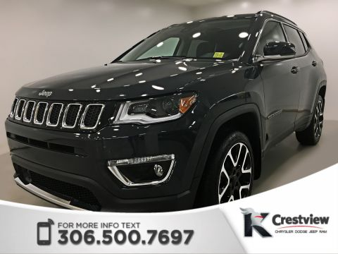 New 2018 Jeep Compass Limited 4x4 | Sunroof | Navigation