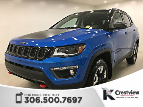 New 2018 Jeep Compass Trailhawk 4x4 | Sunroof | Navigation