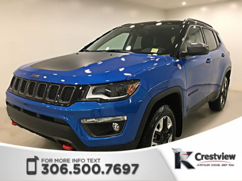 New 2018 Jeep Compass Trailhawk 4x4 | Sunroof | Navigation | Remote Start