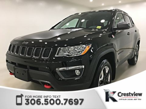 New 2018 Jeep Compass Trailhawk 4x4 | Leather | Sunroof | Navigation