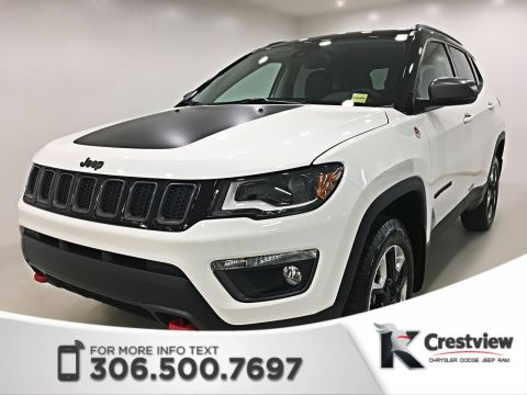 New 2018 Jeep Compass Trailhawk 4x4 | Sunroof | Remote Start