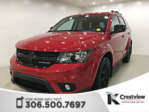2017 Dodge Journey Blacktop SXT AWD V6 | DVD