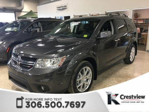 Certified Pre-Owned 2017 Dodge Journey GT AWD V6 | DVD | Sunroof