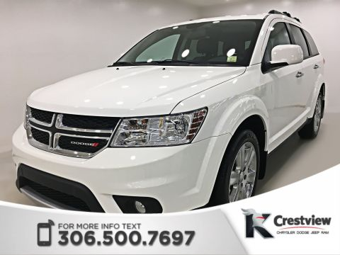 Certified Pre-Owned 2017 Dodge Journey GT AWD V6 | DVD | Navigation | Sunroof