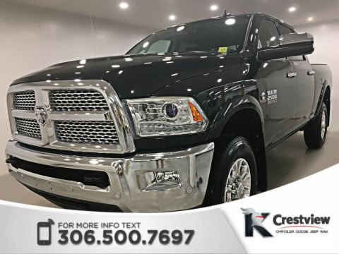 New 2018 Ram 2500 Laramie Crew Cab | Sunroof | Navigation