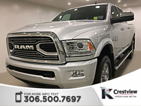 New 2018 Ram 2500 Limited Crew Cab | Sunroof | Navigation