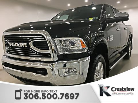 New 2018 Ram 2500 Longhorn Crew Cab | Sunroof | Navigation