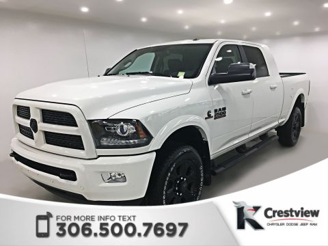Used Ram 2500 Laramie Mega Cab | Ventilated Seats | Sunroof | Navigation