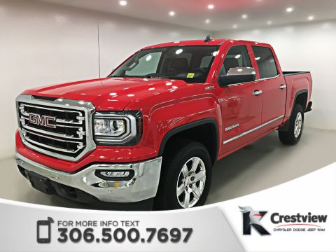 Used GMC Sierra 1500 SLT Crew Cab | Leather | Remote Start