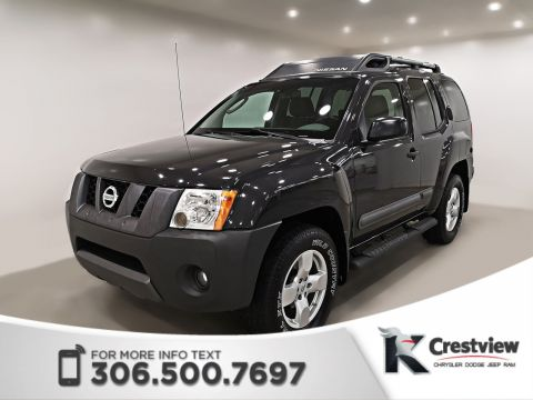 Pre-Owned 2008 Nissan Xterra SE