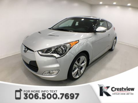 Used Hyundai Veloster w/Tech | Sunroof | Navigation