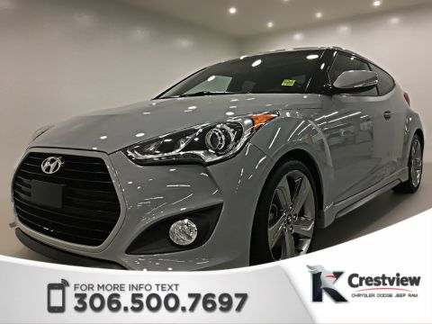 Certified Pre-Owned 2013 Hyundai Veloster Turbo | Leather | Sunroof | Navigation
