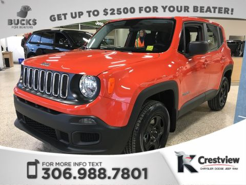 New Jeep Renegade Sport 4x4 | Remote Start