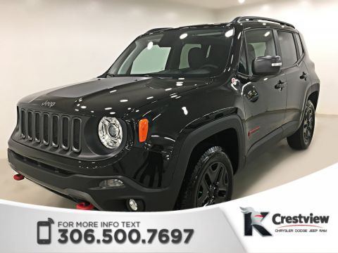 New Jeep Renegade Trailhawk 4x4 | Leather | Sunroof | Navigation