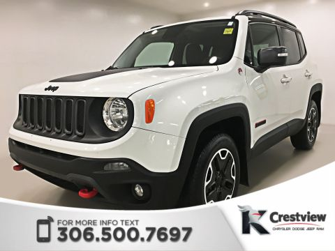 Certified Pre-Owned 2015 Jeep Renegade Trailhawk 4x4 | Navigation | Remote Start