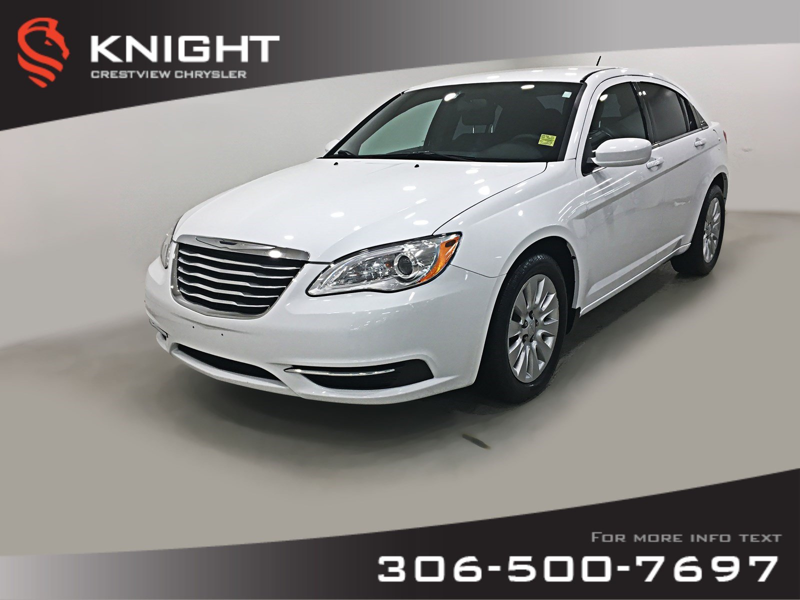 Certified Pre-Owned 2014 Chrysler 200 LX | Remote Start
