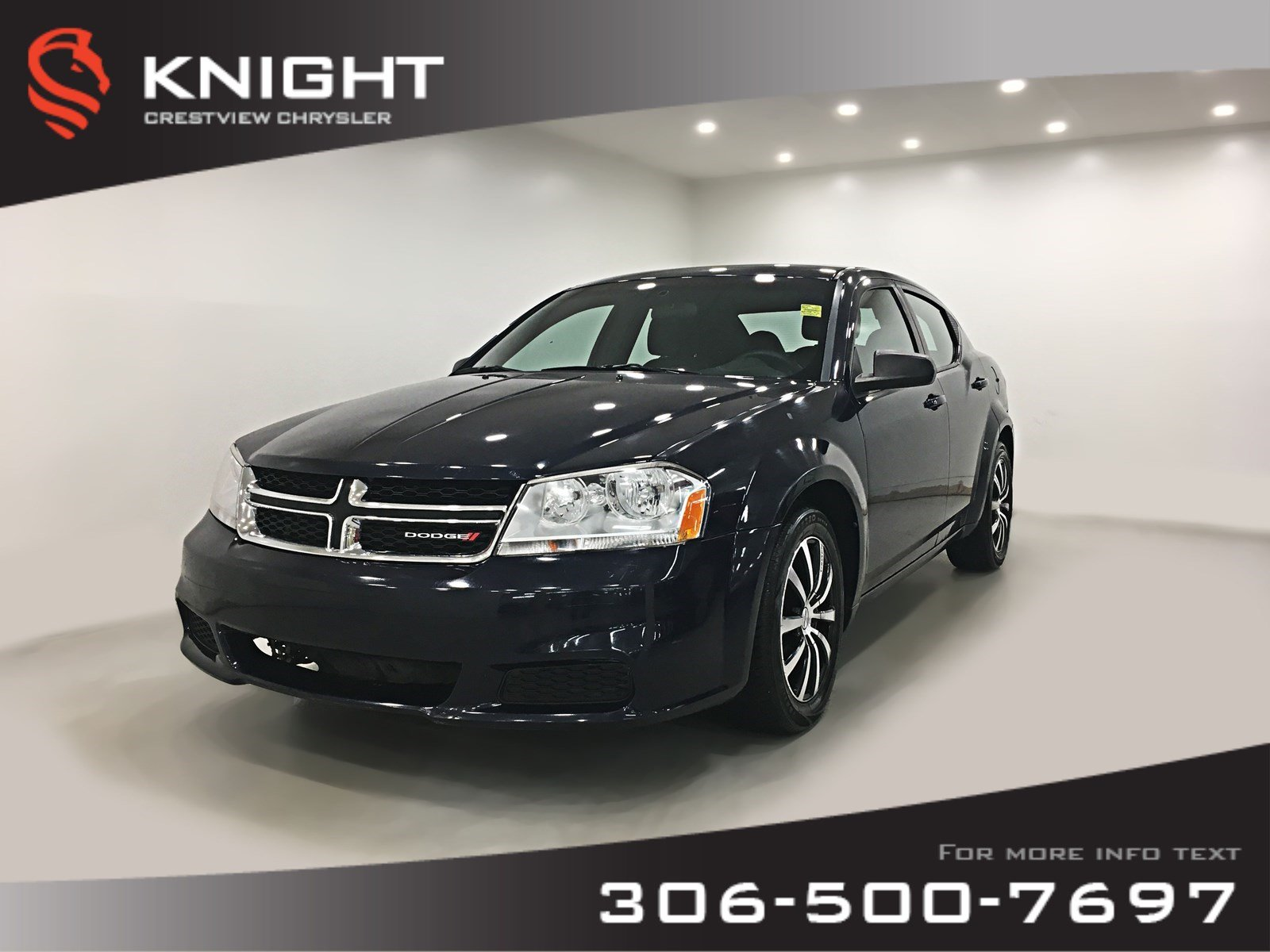 Pre-Owned 2013 Dodge Avenger SE Canada Value Package