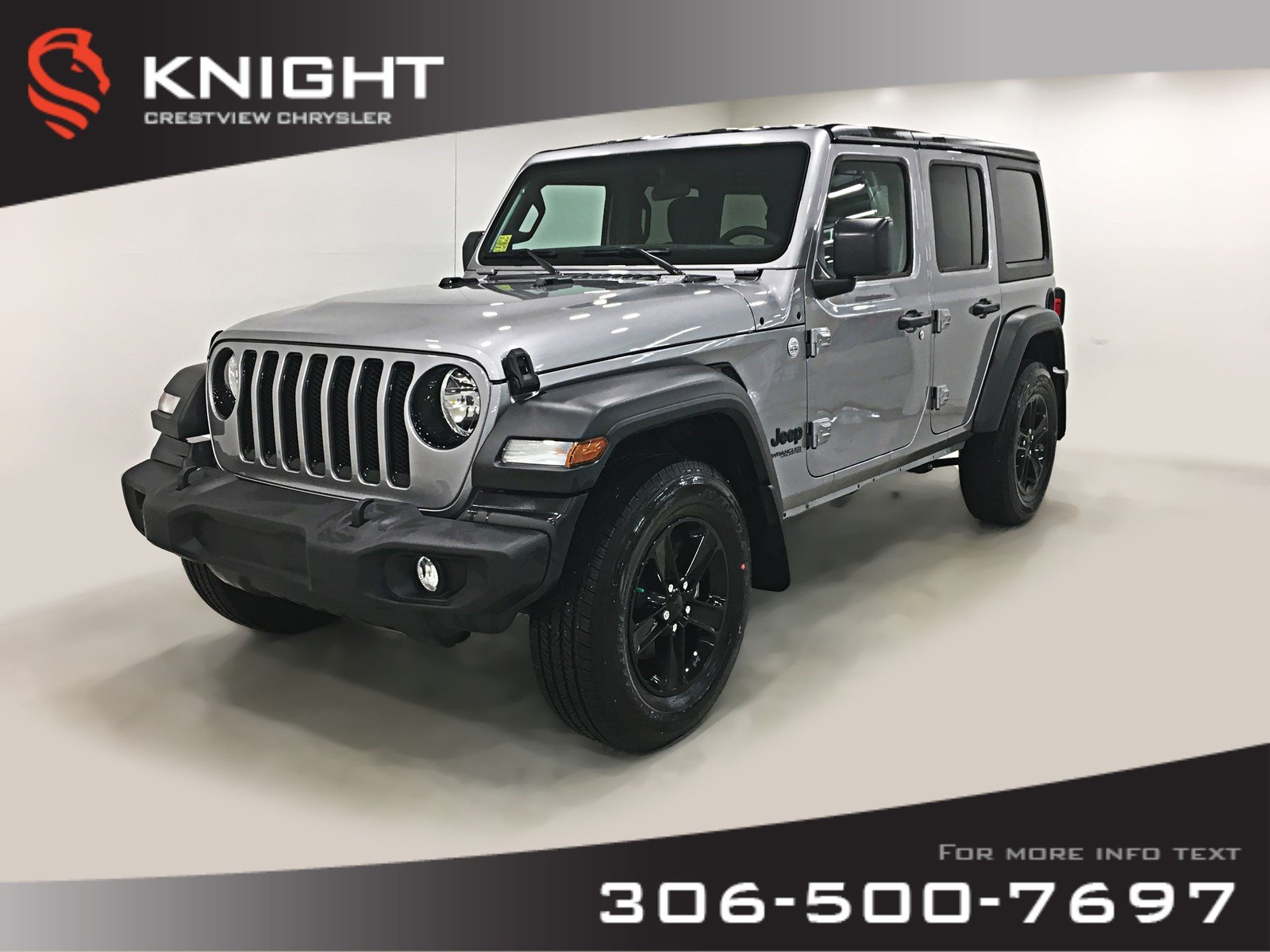 New 2019 Jeep Wrangler Unlimited Sport | Heated Seats and Steering Wheel | Remote Start