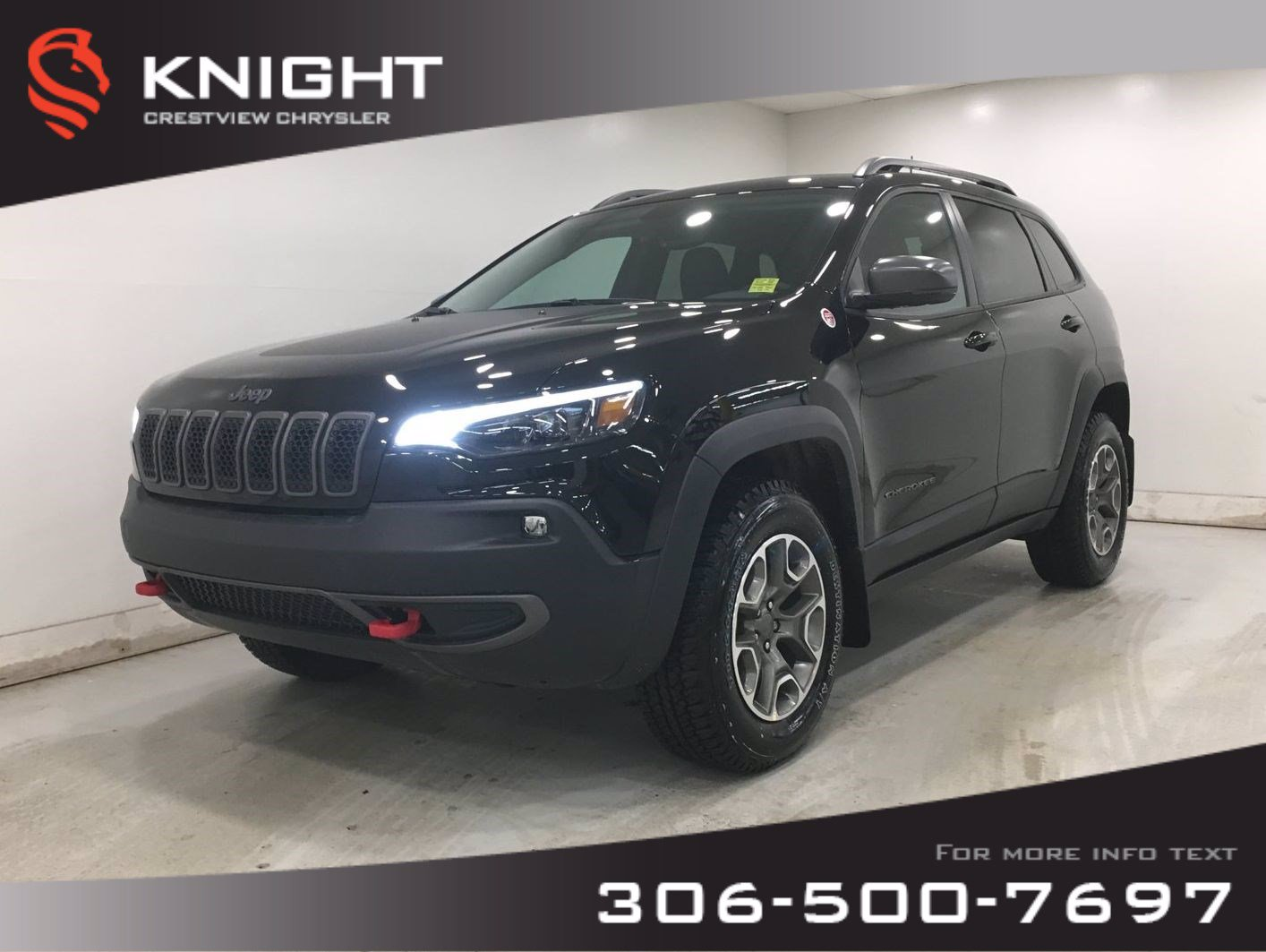 New 2020 Jeep Cherokee Trailhawk Elite 4x4 V6 | Sunroof | Navigation