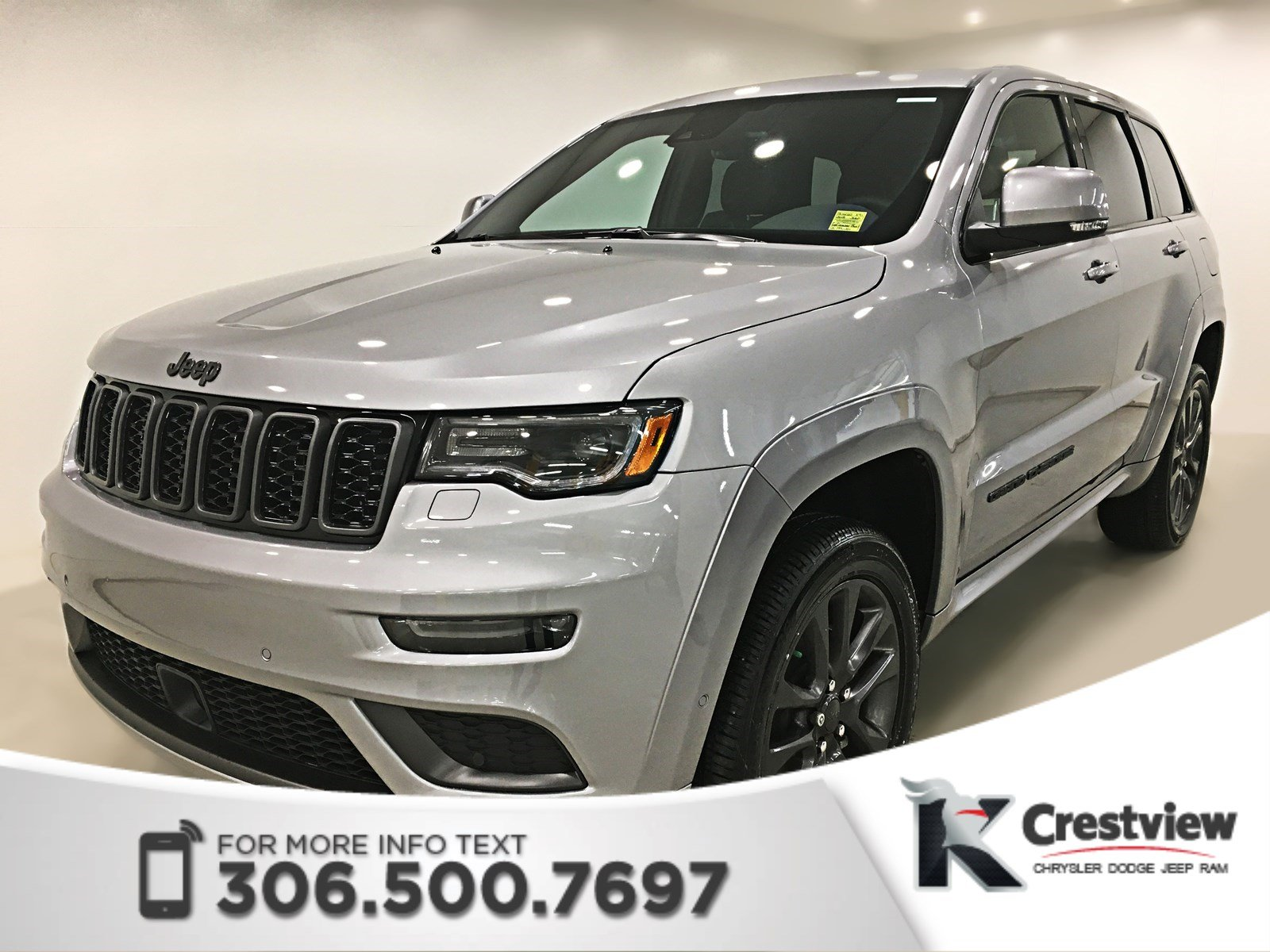 New 2018 Grand Cherokee High Altitude