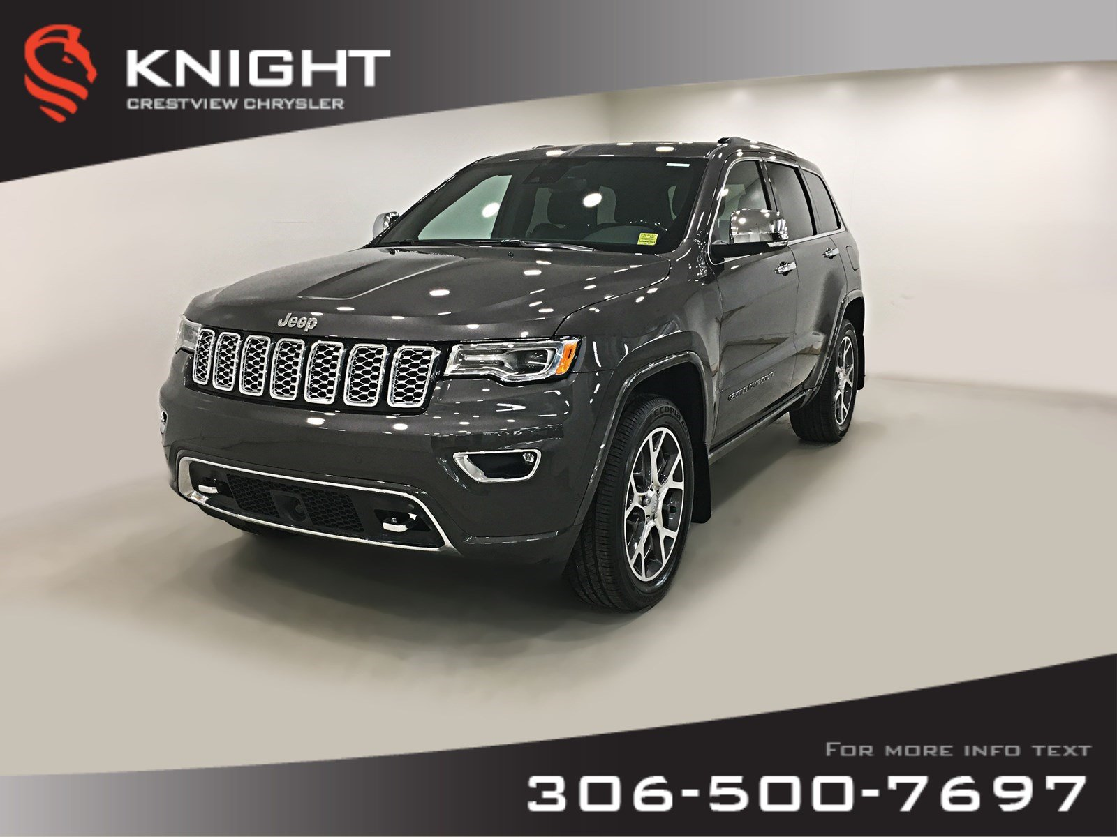 New 2019 Jeep Grand Cherokee Overland V6 | Ventilated Seats | Sunroof | Navigation