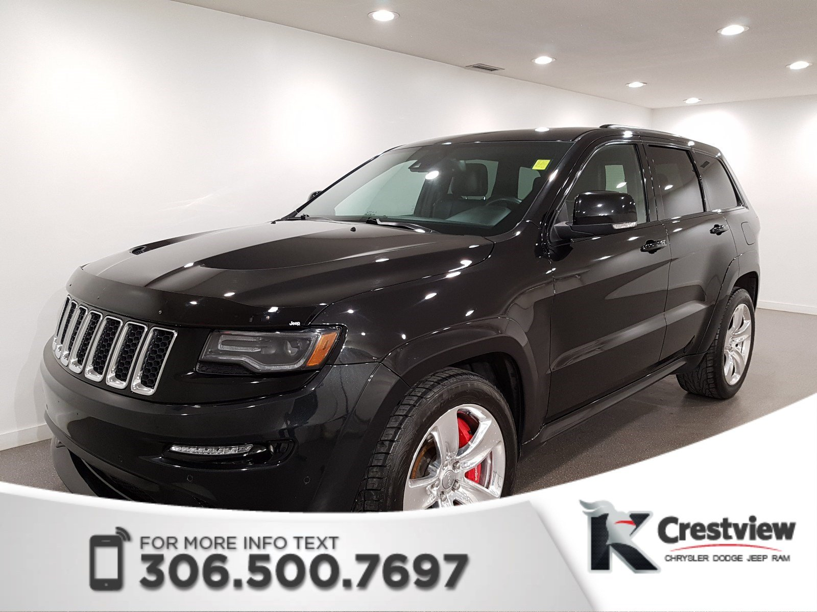 Certified Pre Owned 2014 Jeep Grand Cherokee SRT8 6.4L Hemi | Sunroof |  Navigation