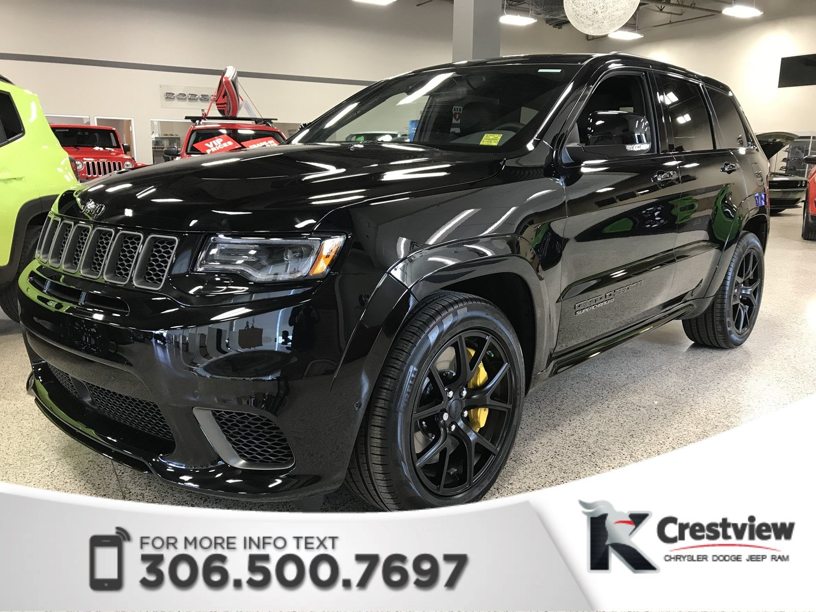 certified used 2018 jeep grand cherokee trackhawk | 707 hp