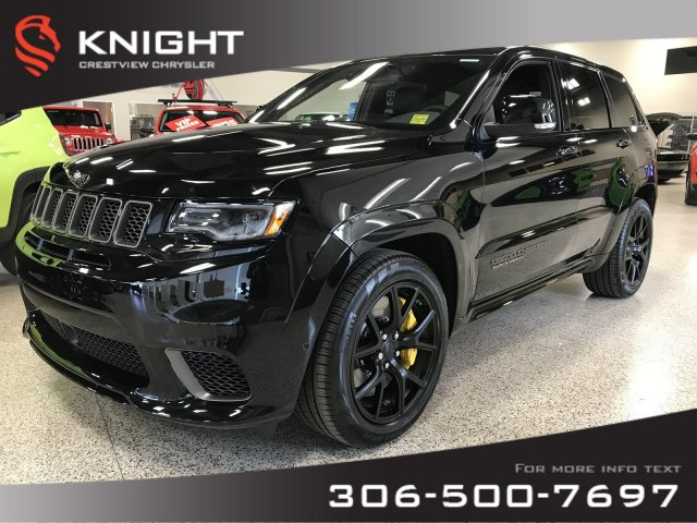 Certified Pre-Owned 2018 Jeep Grand Cherokee Trackhawk | 707 HP | Panoramic  Sunroof | DVD 4WD Sport Utility