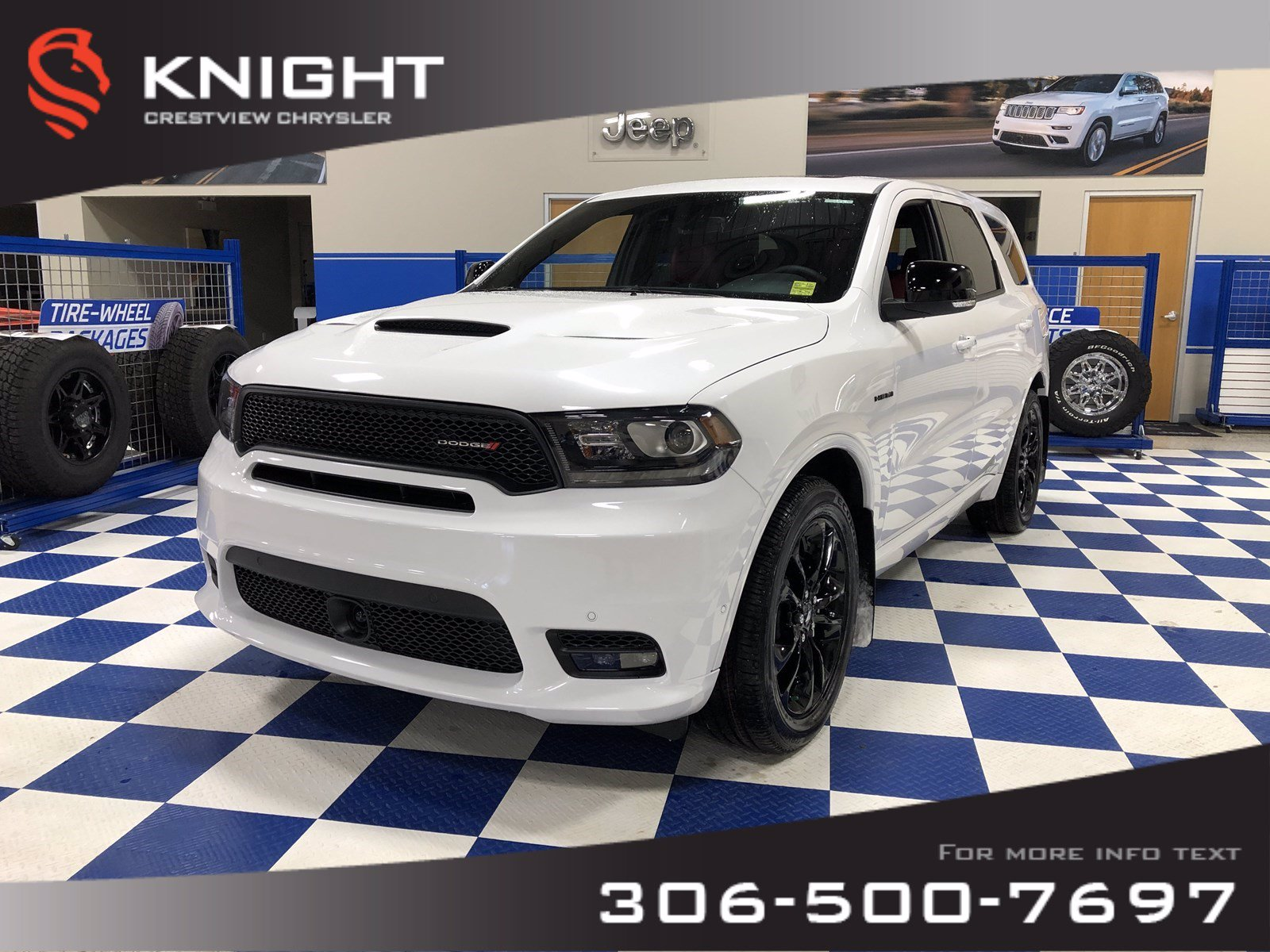 New 2020 Dodge Durango R/T Blacktop AWD | Sunroof | Navigation