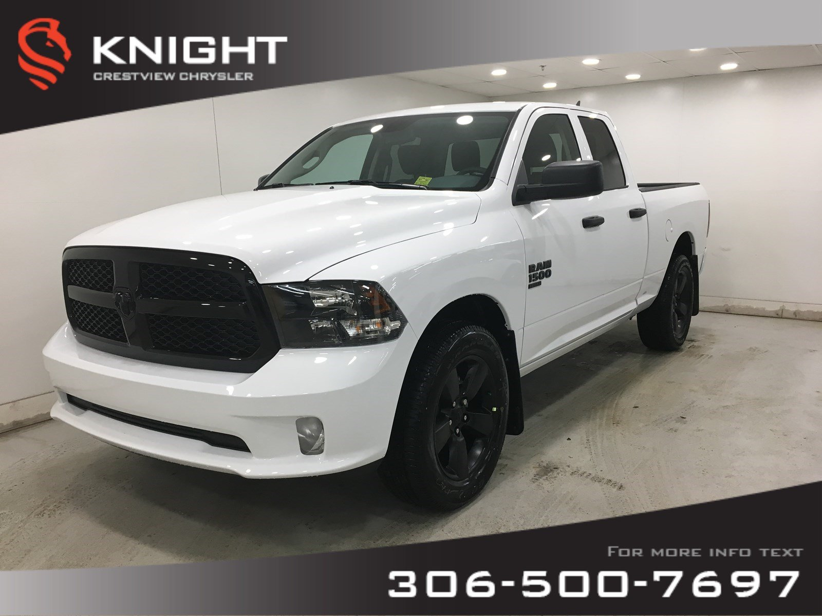 New 2019 Ram 1500 Classic Express Night Edition Quad Cab V6 | 8.4 Touchscreen | Back-up Camera