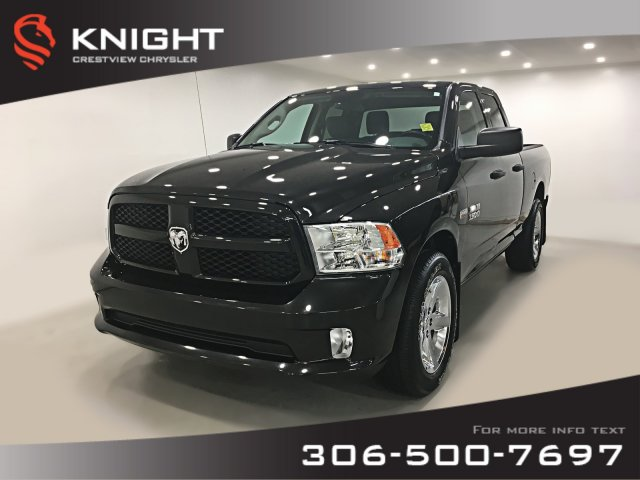 Certified Pre-Owned 2017 Ram 1500 Express Quad Cab | Remote Start