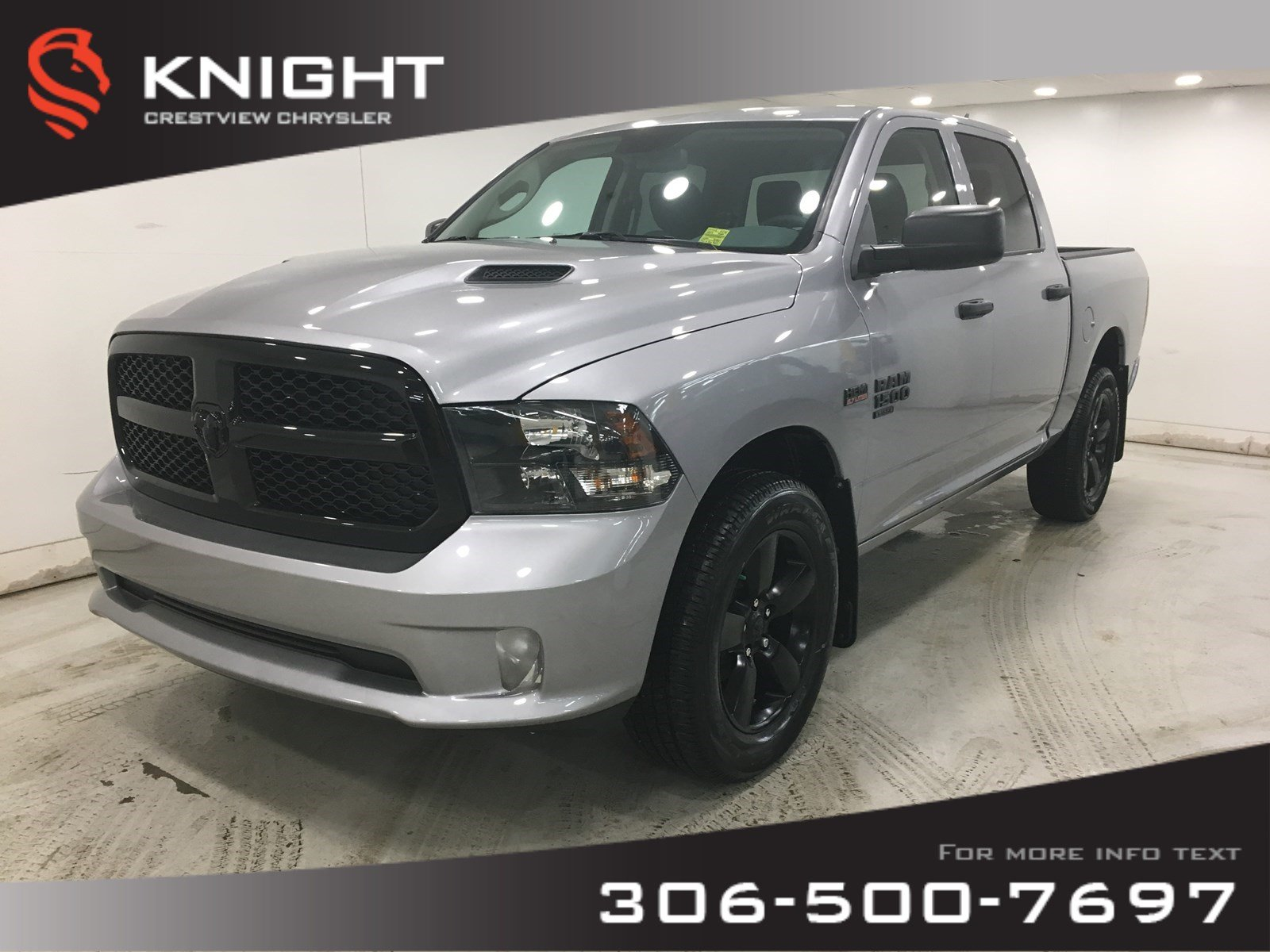 New 2019 Ram 1500 Classic Express Night Edition Crew Cab | 8.4 Touchscreen | Back-up Camera