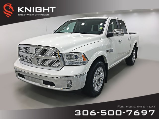Certified Pre-Owned 2017 Ram 1500 Laramie Crew Cab | Sunroof | Navigation | Remote Start