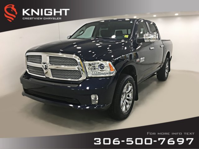 Pre-Owned 2014 Ram 1500 Longhorn Limited Crew Cab | Sunroof | Navigtation