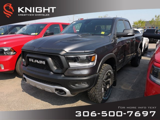 New 2019 Ram 1500 Rebel Quad Cab | Heated Seats and Steering Wheel