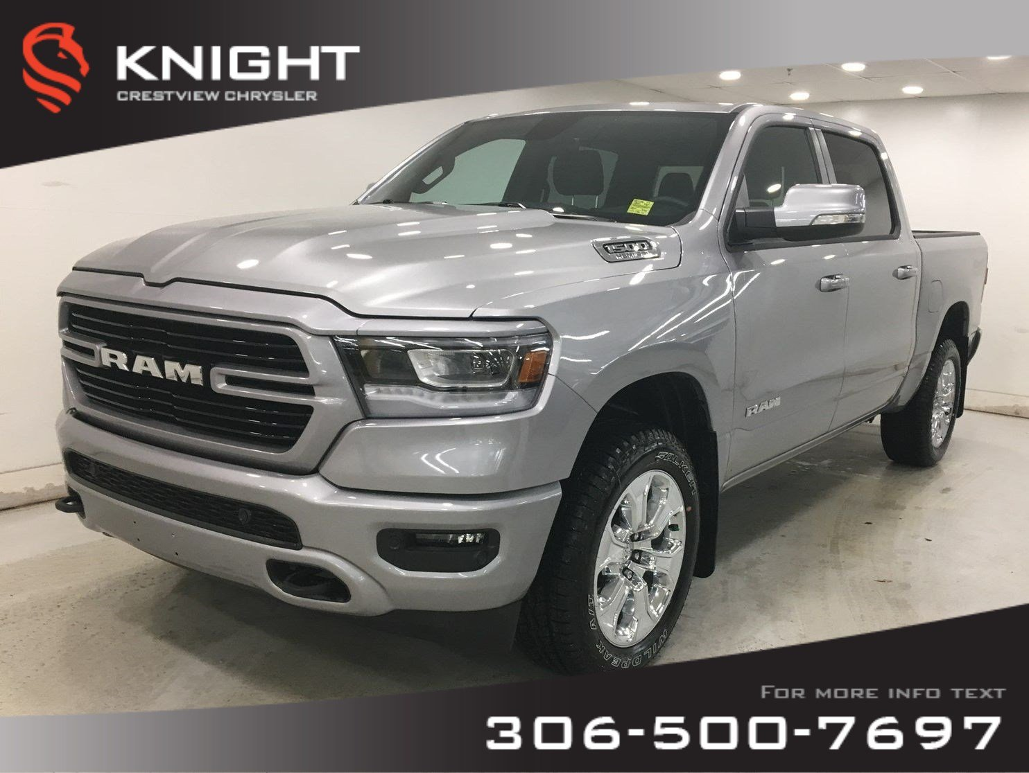 New 2020 Ram 1500 Big Horn Sport Crew Cab | Heated Seats and Steering Wheel | Navigation | Remote Start
