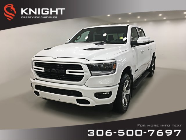 Certified Pre-Owned 2019 Ram 1500 Sport Crew Cab | Leather | Sunroof | Remote Start
