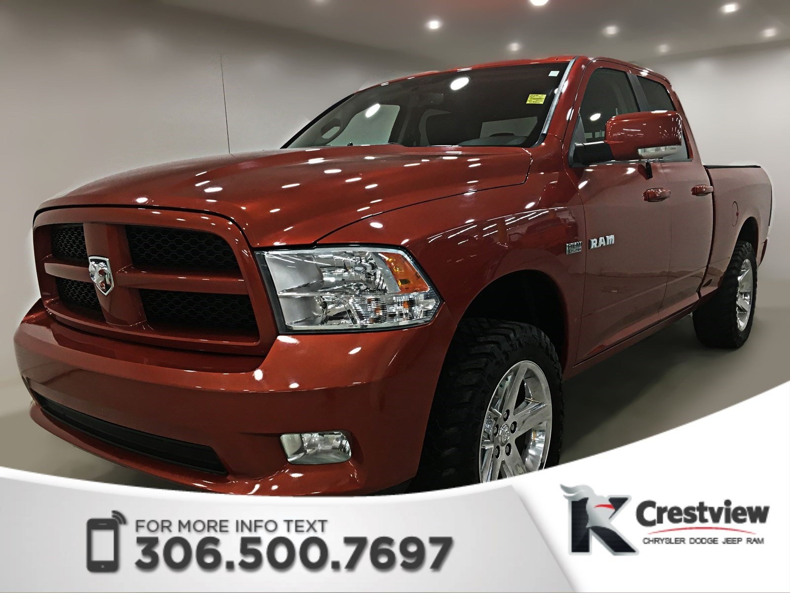 Pre-Owned 2009 Dodge Ram 1500 Sport Quad Cab