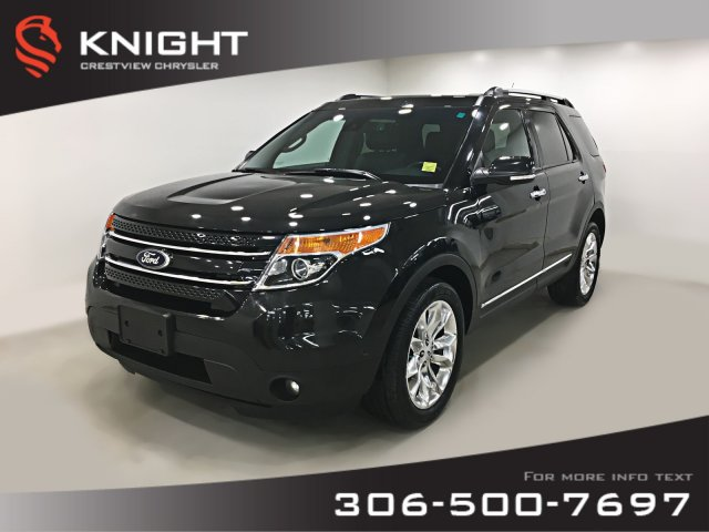 Certified Pre-Owned 2014 Ford Explorer Limited | Leather | Sunroof | Navigation