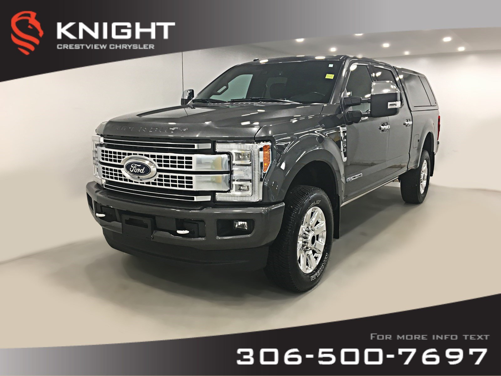 Pre-Owned 2017 Ford Super Duty F-250 SRW Platinum Crew Cab | Leather | Sunroof | Navigation
